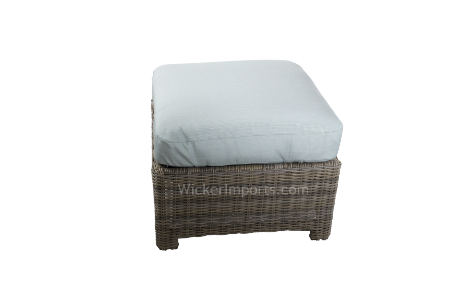 275SO - Bainbridge and Cabo Square Ottoman Cushions