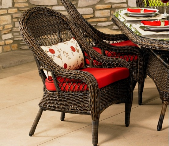 405DC - Brookwood and Berkshire Dining Chair Cushion