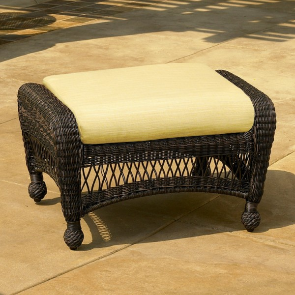 400O - Charleston and Port Royal Ottoman Cushion