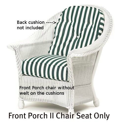 143C - Front Porch II Chair Seat Cushion