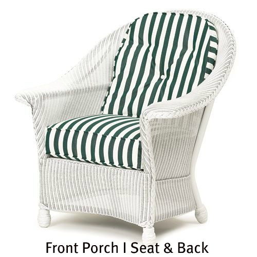 140C - Front Porch I Chair Seat and Back Cushions