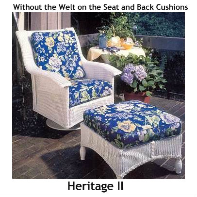 241SR - Heritage II Swivel Rocker Cushion