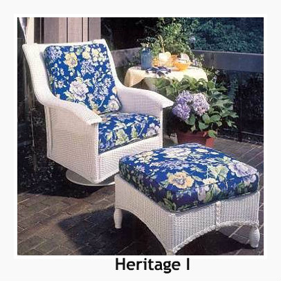 240SR - Heritage I Swivel Rocker Cushion