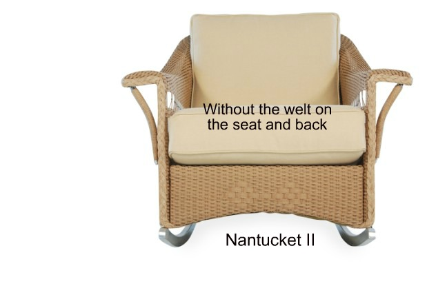 511R - Nantucket II Rocker Cushion