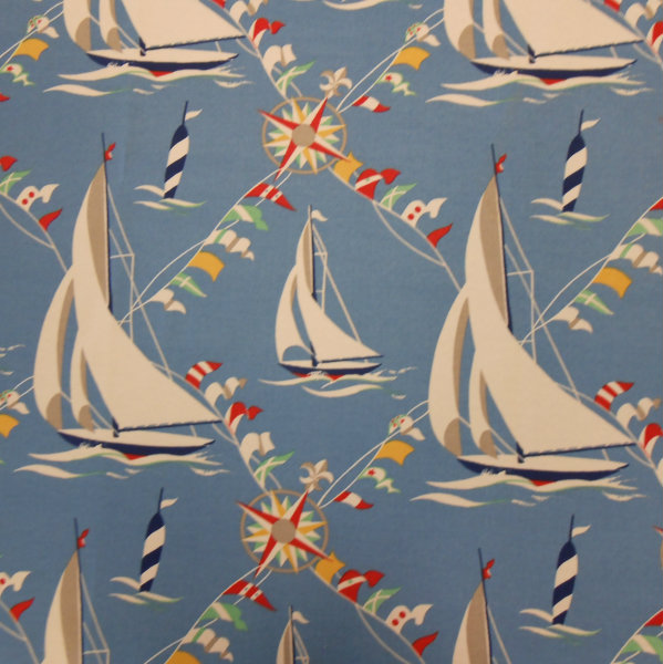 Set Sail Atlantic - Printed Spun Poly