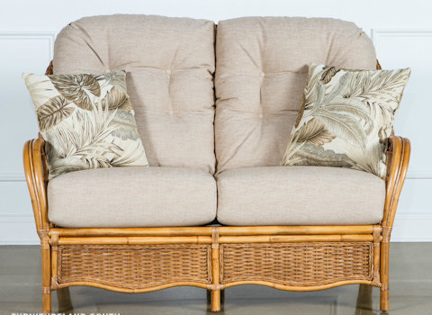 905-19 - Braxton Culler Everglades Loveseat Cushions