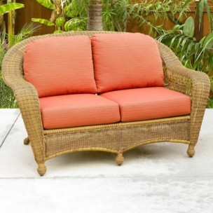 400LS - Charleston and Port Royal Loveseat Cushions