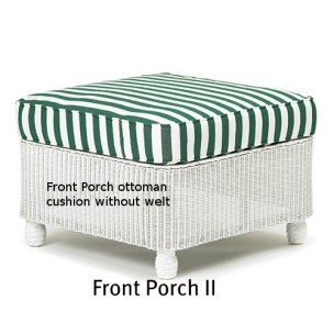 142O - Front Porch II Ottoman Cushion