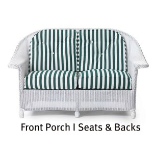 Front Porch I Loveseat Seat and Back CushionsI
