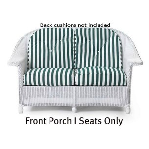 Front Porch I Loveseat Seat Cushions