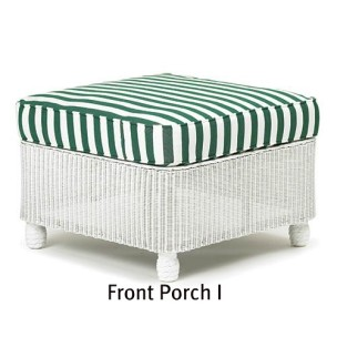 140O - Front Porch I Ottoman Cushion