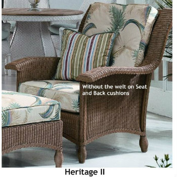 241C - Heritage II Chair Cushion
