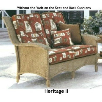 Heritage II Loveseat  Cushion