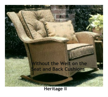 241R - Heritage II Rocker Cushion