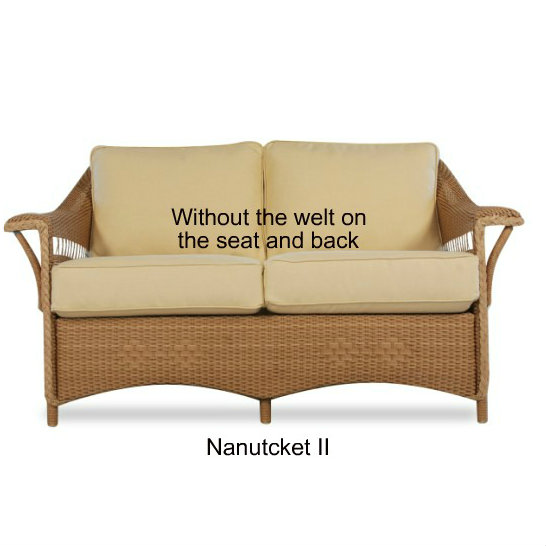 Nantucket II Loveseat Cushions