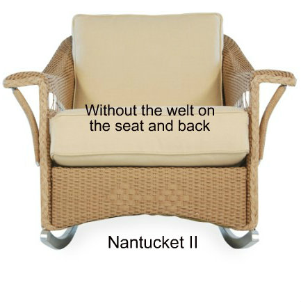 Nantucket II Rocker Cushion