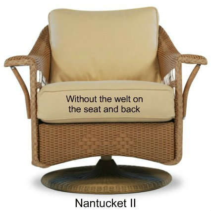 Nantucket II Glider Cushions