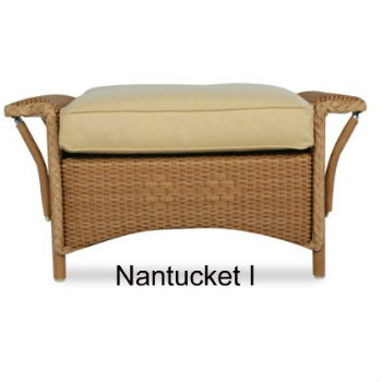 Nantucket I Ottoman Cushion
