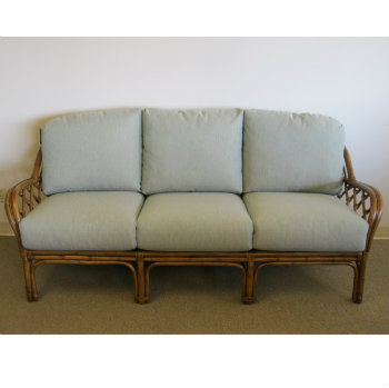 1000S - Custom Deep Seating Rattan or Wicker Sofa Cushions Cushions