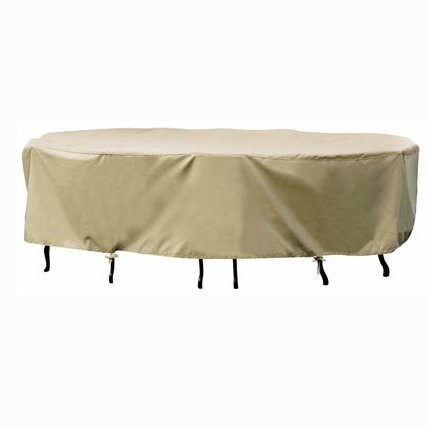 Extra Large Oval Dining Set Cover